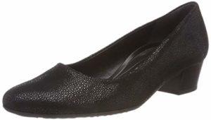 Gabor Shoes Damen Comfort Fashion Pumps, (Schwarz 27), 44 EU