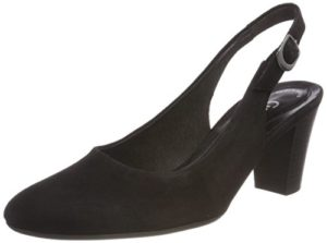 Gabor Shoes Damen Comfort Fashion Pumps, (Schwarz), 38.5 EU