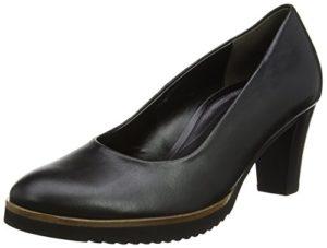 Gabor Shoes Damen Comfort Fashion Pumps, Schwarz (Matt Finish), 41 EU