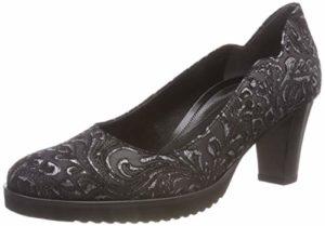 Gabor Shoes Damen Comfort Fashion Pumps, Schwarz(S.S/A.S) 87, 39 EU