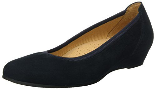 Gabor Shoes Damen Comfort Geschlossene Ballerinas, Blau (Nightblue 46), 39 EU