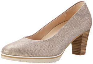 Gabor Shoes Damen Comfort Pumps, Beige (Leinen S.Rose/A.n 12), 40.5 EU