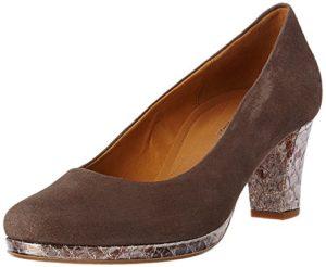Gabor Shoes Damen Comfort Pumps, Braun (Fango Anthrazit 13), 38.5 EU