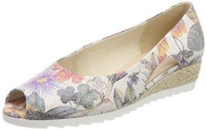 Gabor Shoes Damen Comfort Sport Pumps, Mehrfarbig (Multicolor (Jute), 38.5 EU
