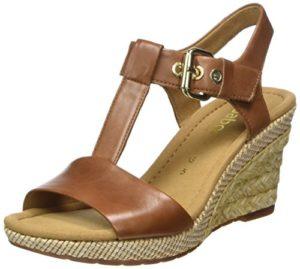 Gabor Shoes Damen Comfort Sport Riemchensandalen, Braun (Peanut (Bast), 36 EU
