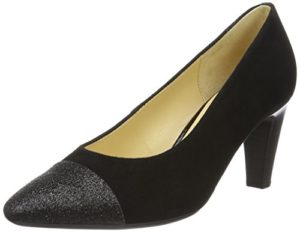 Gabor Shoes Damen Fashion Pumps 65.152, Schwarz (Schwarz 40), EU