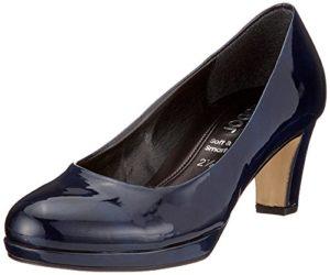 Gabor Shoes Damen Fashion Pumps, Blau (Marine Natur), 38.5 EU