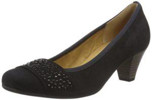 Gabor Shoes Damen Fashion Pumps, Blau (Pazifik +Steine 16), 40 EU
