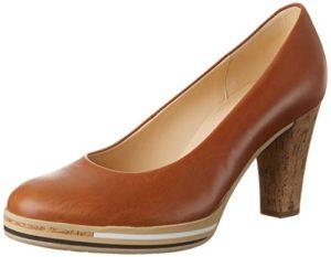 Gabor Shoes Damen Fashion Pumps, Braun (Cognac Abs.Kork 24), 38 EU