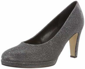 Gabor Shoes Damen Fashion Pumps, Grau (Argento 69), 38.5 EU
