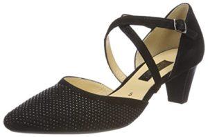 Gabor Shoes Damen Fashion Pumps, (Schwarz), 38.5 EU