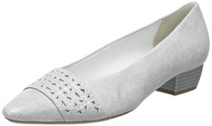 Gabor Shoes Damen Fashion Pumps, Weiß (Ice +Absatz 61), 40 EU