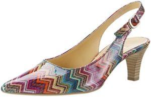 Gabor Shoes Damen Fashion Pumps, (rot Kombi 93), 37 EU