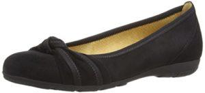 Gabor Shoes Gabor Sport, Damen Geschlossene Ballerinas, Schwarz (schwarz 17), 42.5 EU (8.5 Damen UK)