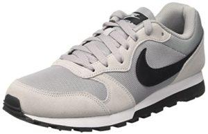 Nike Herren Sneaker MD Runner 2, Herren Sneaker, Grau (Wolf Grey/Black/White 001), 44 EU