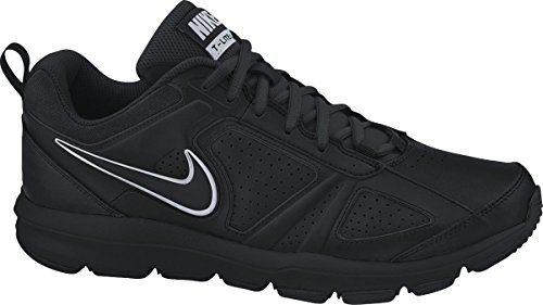 Nike T-Lite XI Herren Hallenschuhe, Schwarz (Black/Black-Metallic Silver 007), 44.5 EU