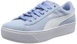 Puma Damen Vikky Platform Sneaker, Blau (Cerulean White 17), 42 EU