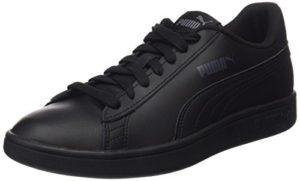 Puma Unisex-Erwachsene Smash V2 L Sneaker, Schwarz (Puma Black-Puma Black 6) , 38 EU