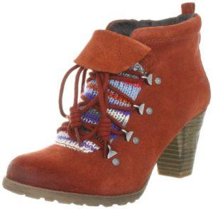 Tamaris 1-1-25342-29, Damen Fashion Halbstiefel & Stiefeletten, Orange (BURNED ORANGE 624), EU 42