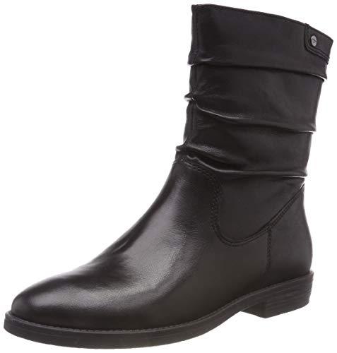 Tamaris Damen 25014-21 Stiefeletten, Schwarz (Black 1), 39 EU