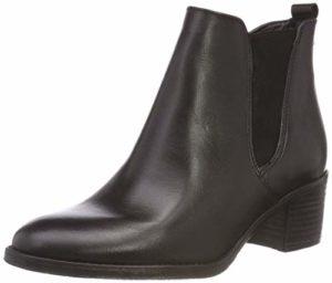 Tamaris Damen 25043-21 Chelsea Boots, Schwarz (Black 1), 37 EU