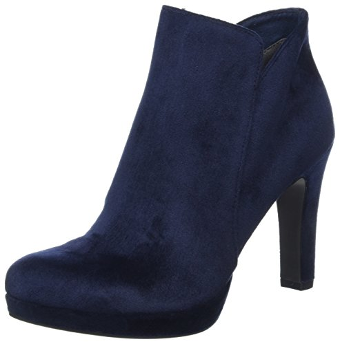 Tamaris Damen 25046 Stiefel, Blau (Navy Velvet), 37 EU