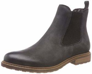 Tamaris Damen 25056-21 Chelsea Boots, Schwarz (Black 1), 37 EU