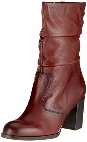 Tamaris Damen 25057-31 Stiefeletten, Rot (Bordeaux 549), 36 EU