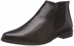 Tamaris Damen 25097-21 Chelsea Boots, Schwarz (Black Leather 3), 40 EU