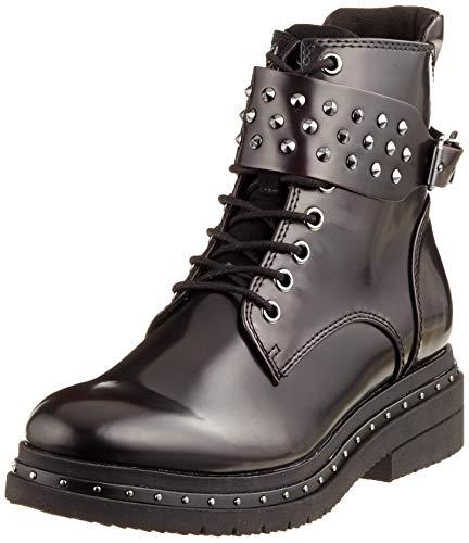 Tamaris Damen 25113-21 Combat Boots, Rot (Bordeaux Brush 551), 39 EU