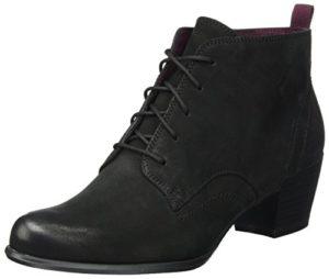 Tamaris Damen 25115 Stiefel, Schwarz (Black Nubuc), 38 EU