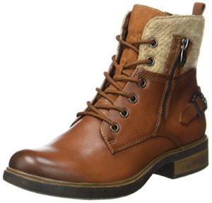 Tamaris Damen 25140 Combat Boots, Braun (Cognac), 40 EU
