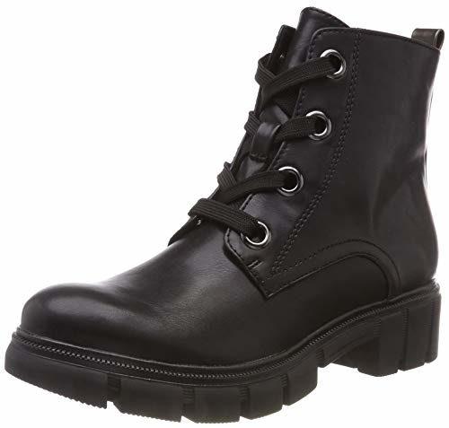Tamaris Damen 25207-21 Combat Boots, Schwarz (Black/Anthra. 51), 40 EU