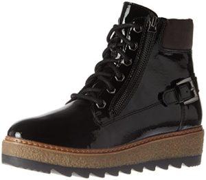 Tamaris Damen 25220 Combat Boots, Schwarz (Black Patent), 39 EU