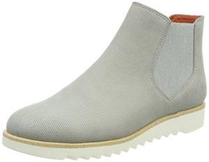Tamaris Damen 25300 Chelsea Boots, grau, 37 EU
