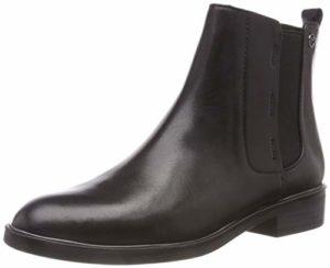 Tamaris Damen 25307-21 Chelsea Boots, Schwarz (Black 1), 42 EU