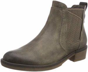 Tamaris Damen 25309-21 Chelsea Boots, Braun (Taupe 341), 36 EU