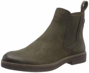 Tamaris Damen 25310-21 Chelsea Boots, Grün (Olive 722), 38 EU