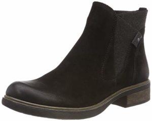 Tamaris Damen 25317-21 Chelsea Boots, Schwarz (Black Uni 7), 40 EU