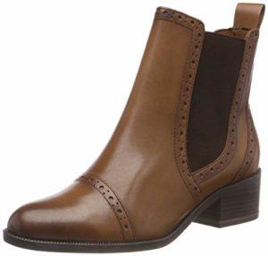 Tamaris Damen 25352-21 Chelsea Boots, Braun (Muscat 311), 40 EU