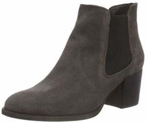 Tamaris Damen 25381-21 Chelsea Boots, Grau (Anthracite 214), 37 EU