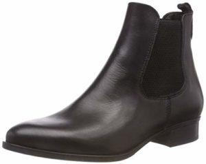 Tamaris Damen 25388-21 Chelsea Boots, Schwarz (Black Leather 3), 36 EU