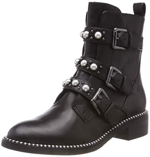 Tamaris Damen 25396-21 Biker Boots, Schwarz (Black 1), 38 EU