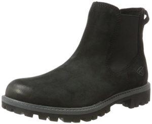 Tamaris Damen 25401 Chelsea Boots, Schwarz (Black Uni), 38 EU