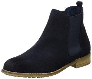 Tamaris Damen 25409 Chelsea Boots, Blau (Navy Uni 850), 38 EU