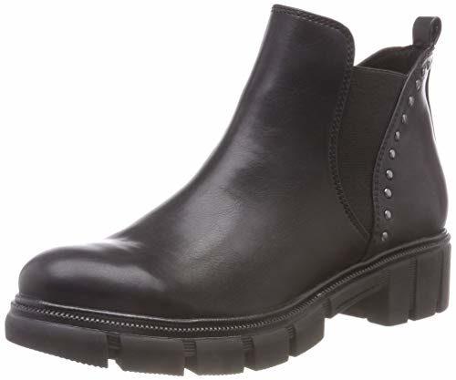 Tamaris Damen 25413-21 Chelsea Boots, Schwarz (Black 1), 36 EU