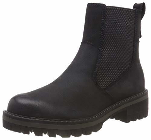 Tamaris Damen 25415-21 Chelsea Boots, Blau (Navy 805), 38 EU
