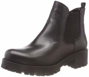 Tamaris Damen 25435-21 Chelsea Boots, Schwarz (Black Leather 3), 36 EU