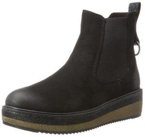 Tamaris Damen 25954 Chelsea Boots, Schwarz (Black), 38 EU