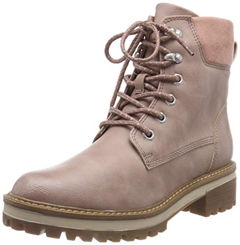 Tamaris Damen 26250-21 Combat Boots, Pink (Rose 521), 37 EU